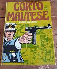 RARE EO HUGO PRATT + CORTO MALTESE CASTERMAN COULEURS : LA CONGA DES BANANES