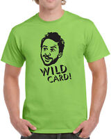 139 Wild Card mens T-shirt funny bar tv show character charlie vintage philly