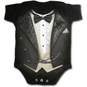 Spiral - Tuxed Baby Dors Black Body Enfant Taille XS Spiral Direct