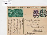 Japan to switzerland 1933 stamps cover Ref 8675