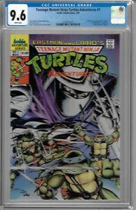 Teenage Mutant Ninja Turtles # 1 CGC 9.6 WP