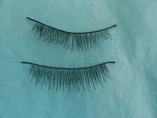 Reborn Wispy Eyelashes Black For Reborn Baby Dolls <3!!.