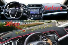 Dashboard Dash Mat Non-Slip Sun Visor Pad Cover For Nissan Maxima 2016-2020