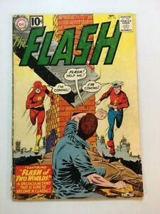 FLASH # 123 , HUGE  COLLECTIBLE CLASSIC , COMPLETE ,NICE.