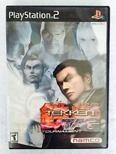 Tekken Tag Tournament Greatest Hits Sony PlayStation 2 ps2 Complete in Case