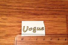 """Transfert logo """"Vogue"""" pour Voilier bois VOGUE"""