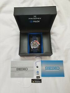 Seiko automatic mini turtle PADI pepsi divers watch SRPC-41 BNIB