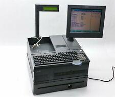 IBM SUREPOS 4800-E84 POS RETAIL TOUCH TERMINAL SYSTEM 3GB 500GB HDD MSR+KEY