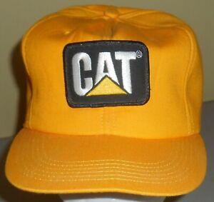 Yellow Tonkin Cat Caterpillar Trucker Hat Snapback Cap