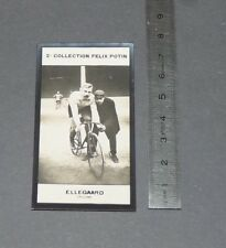 PHOTO IMAGE FELIX POTIN 2ème ALBUM 1907 CYCLISME ELLEGAARD DANMARK CYCLING