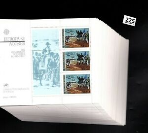 # 50X PORTUGAL - MNH - EUROPA CEPT 1982 - SHIPS - PEOPLE - WHOLESALE