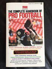 The Complete Handbook Of Pro Football 1980 Edition, Football Books, Lynn Swan