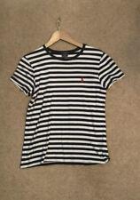 Ralph Lauren Breton Strip Ladies T Shirt Size Xl