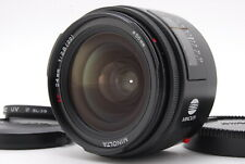 [Near Mint FedEx] MINOLTA AF 24mm F2.8 Wide Angle Lens Sony A mount From Japan