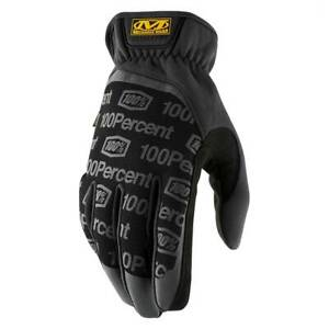 100% Percent Mechanix Wear FASTFIT® Mechanic Gloves Black