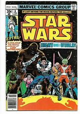 Marvel Comics Star Wars #8 Very Good Condition Scans of Both Front and Back