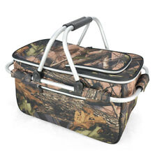 Foldable Outdoor Picnic Insulated Cooler Basket Picnic Basket Picnic Cooler bags