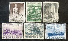 Nederland  550 - 555 gebruikt (1)