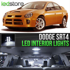 2003-2005 Dodge Neon SRT4 White LED Lights Interior Kit Package