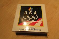 Vintage 25 Year Old NIB JC Penny 1992 U.S. Olympic 5 Pin Collectors Set