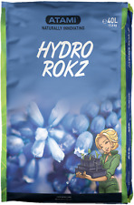 Atami Hydro Rokz 40L Lightweight Spherical Clay Pebbles Hydroponic Growing
