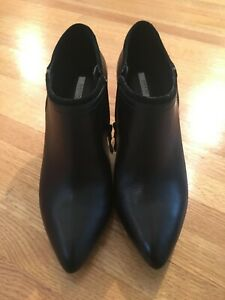GEOX RESPIRA Ankle Boots Heeled Women 6.5 US