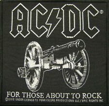 AC/DC AUFNÄHER / PATCH # 56 FOR THOSE ABOUT TO ROCK