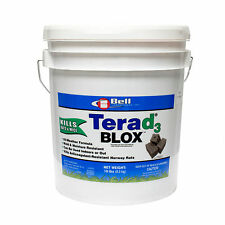 Terad3 Blox 18 Lbs Rodent Bait Rat Bait Mouse Bait Cholecalciferol Rodent Poison