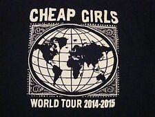 Cheap Girls World Concert Tour 2015 Rock Music Michigan T Shirt M