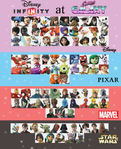 Disney Infinity Figures - Disney, Pixar, Marvel, Star Wars - Pay Postage Once