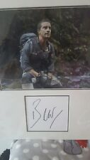 bear grylls hand signed 16x12 inch proffesional display