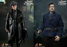 "HOT TOYS INGLOURIOUS BASTERDS HANS LANDA + ALDO RAINE 1/6 12"" ACTION FIGURE NEW"