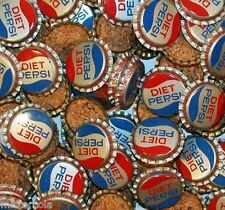 Soda pop bottle caps Lot of 25 DIET PEPSI cork lined unused new old stock