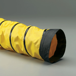 "Dog Agility Tunnel - 8"" x 25"" Coated Fabric Spring-Flex SD-W Hose"