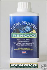 """RENOVO CANVAS SOFT TOP HOOD """" ULTRA PROOFER """" 500ML FOR AUSTIN HEALEY"""