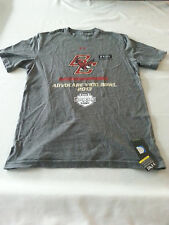 BOSTON COLLEGE EAGLES UNDER ARMOUR large CHARGED COTTON tshirt short sleeve