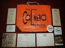 Frank Sinatra's Cal-Neva Lodge Paper Collection Show Schedule Coaster and more
