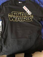 Star Wars  Logo  Last Jedi Primark  XL tee Shirt