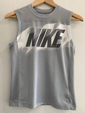 Nike Youth Top. Grey Dri-fit. Size M. EUC