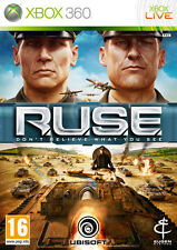 R.U.S.E. RUSE XBOX 360 IT IMPORT UBISOFT