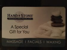$100 gift card hand and stone