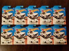 Hot Wheels 2017 Datsun 620 Truck White HW Hot Trucks (Lot of 10) *NEW*