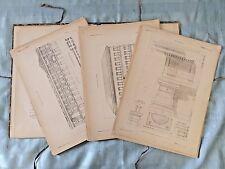 Gromort Elements D' Architecture Classique Rare Book Third Edition Paris 1920