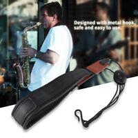 SAX Moschettone regolabile in nylon con cinturino per sassofono per Sop / Alto /