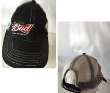 NASCAR Budweiser Hat Cap Kevin Hardwick #29 Spellout Logo Mesh Adjustable