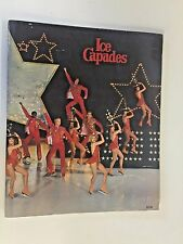 Vintage 1978 Ice Capades Program W/ Poster Star Struck Robert Turk Skating Dance