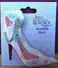 Just The Right Shoe - Graffiti Gurl brooch (see other items for 9 more brooches)