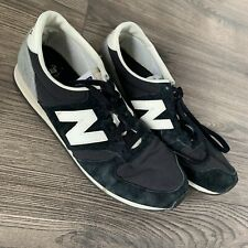 New Balance trainers 420 size UK 8.5 BLACK GREY Sneakers