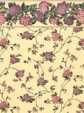 Dolls House Kismet Violet Miniature Print 1:12 Scale Wallpaper 3 Sheets