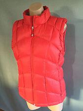 BNWT Womens Sz 16 Kathmandu Brand Red Duckdown 550 V4 Puffer Vest RRP $300